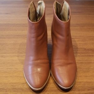 Ted Baker Tan Lorca Ankle Boots